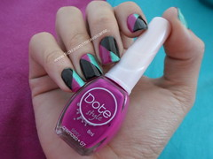 Dote  Sexy e Rivka  Lara (Mica Cavalcante) Tags: sexy verde hand nail inspired magenta polish nails lara unhas rivka dote nailenamel turquesa esmalte naillacquer verniz vernisaongles dotestyle tapemani geometricnails