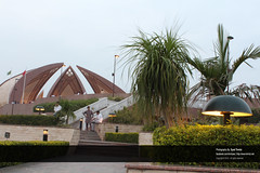 Beautiful Landscaping and lighting at Pakistan Monument, Islamabad, Pakistan (Old Shakar Parian) (Syed Tirmizi) Tags: pakistan islamabad shakarparian tirmizi pakistanmonumenet