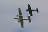 B-25J Mitchell & F4U-4 Corsair (Ronnie Macdonald) Tags: airshow corsair mitchell f4 fairford b25 n6123c ronmacphotos oeeas riat2013