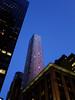 (Shane Henderson) Tags: newyorkcity newyork tower architecture night corner skyscraper buildings lights manhattan midtownmanhattan internationalpaperbuilding sofitelnewyork cassahotelresidences lewiscongerbuilding