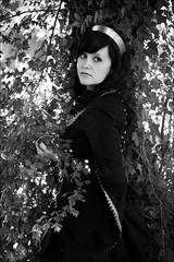 Miss Wonderland (Kiyhuri Photography) Tags: b people white black canon germany w gothic wave medieval leipzig burlesque treffen gotik wgt 2013 kiyhuri pfingstgeflüster wgt2013