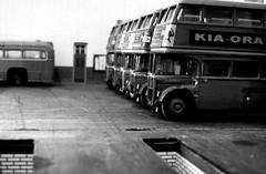 RT line up (kingsway john) Tags: kingsway models 176 scale model bus diorama london transport garage londontransportmodel oo gauge miniature
