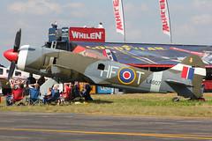 N607LA - 1943 build Hawker Tempest Mk.II, displayed at Lakeland during Sun 'n Fun 2013 (egcc) Tags: museum tempest lakeland kermit raf snf hawker eaa lal whelen klal sunnfun royalairforce linder hft 2013 la607 skyfame n607la