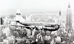 Boeing Model 377 Stratocruiser (San Diego Air & Space Museum Archives) Tags: model boeing 377 stratocruiser