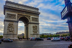 Arc De Triomphe - Champs Elysee (kelvs) Tags: paris de europe champs arc triomphe elysee