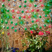 The Sustainability Shack uses recycled plastic bottles for both structure and decoration.shackathon-216