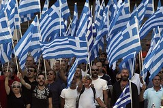 The freedom of a Nation is a serious and permanent struggle against all the provocations, manipulations, from anywhere. (Only Tradition) Tags: greece grecia grce grece