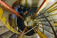 Spiral Down (boingyman.) Tags: travel stairs spiral hawaii oahu hike diamondhead boingyman