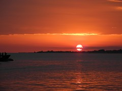 Tramonto del 29 agosto 2013 (CasteFoto) Tags: sunset sea italy holiday evening seaside italia tramonto mare torre south salento vacanza sud sera vado