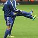 Torres and De Bruyne warm up