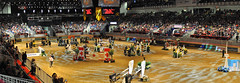 Ricoh Coliseum - Greenhawk Canadian Cup 2013 (Richard Wintle) Tags: panorama horse toronto ontario canada jumping coliseum ricoh equestrian stitched showjumping theroyal autostitched exhibitionplace royalagriculturalwinterfair royalhorseshow greenhawk canadiancup 50000greenhawkcanadiancup