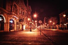 Łódź, 147 Piotrkowska Street. Poland November 2013 (Smo_Q) Tags: street night nacht strasse poland polska polen noc ulica