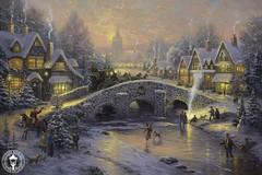 Thomas Kinkade-Spirit of Christmas