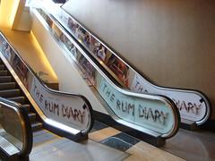 Entertainment, The Run Diary at AMC Century, Escalator Graphics City