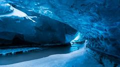 Ice Cave (Sandra Herber) Tags: winter snow iceland glacier vatnajokull facebook icecave breiðamerkurjökull