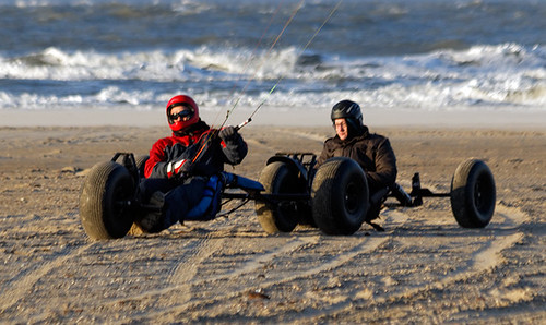 Texel kite buggy club