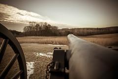 Aim (T-3 Photography) Tags: sky history clouds canon virginia war battle civilwar va weapon cannon artillery battlefield 1740mm princeedwardcounty 5dmarkii