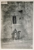 British blockhouse at Landi Kotal on the Afghan border (simpleinsomnia) Tags: old pakistan white black monochrome vintage found army blackwhite war fort britain antique snapshot photograph soldiers vernacular british foundphotograph kotal landi landikotal