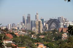 Sydney Downtown Skyline and Harbour Bridge (phhesse) Tags: bridge harbour sydney australia australien 2013