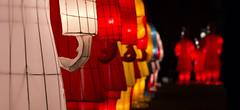 Chinese Warrior Lanterns, Edinburgh (cjrushphotography) Tags: new edinburgh university year chinese lanterns warrior instilation cjrushphotograph