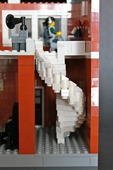 Lego House - Staircase (Chipster15) Tags: house lego moc minifigures