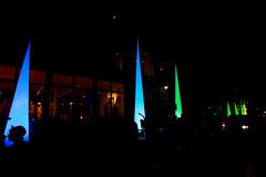 Towers of light