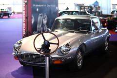 Jaguar E-Type. Se fabricó entre los años 1961 y 1975.