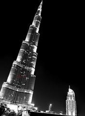Burj Khalifa - World's tallest Building (Utsav V) Tags: new blue sea vacation india love beach night speed dessert nikon long dubai open dolphin indian year uae iso safari khalifa arab corniche shutter akl utsav sharjah burj 2014 verma d600