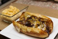 NY Steak Hoagie (sheryip) Tags: new york ny green arch market steak morgantown hoagie