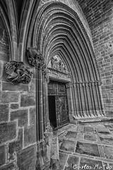 Portada Sur (Carlos_Mateo) Tags: church stone gate iglesia entrada portada navarra piedra gotic gtico uju ujue