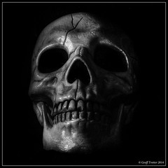 The Skull - Easter 2014 (Geoff Trotter) Tags: old newzealand blackandwhite bw art monochrome canon easter death skull die cross jesus nz crucified experimantal 50d theskull canon50d luke2333 geofftrotter stunningphotogpin easter2014 theplacecalledtheskull