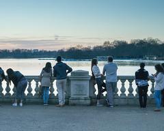 View (hisaya katagami) Tags: leica people lake london night zeiss dusk rangefinder m digitalcamera carlzeiss zm planart250 m9p