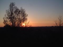 Drferblick - Sonnenuntergang (sebastianmichalke) Tags: berg skyline sonnenuntergang feld dmmerung rudow schnefeld gropiusstadt drferblick wasmannsdorfer