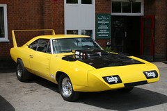 1969 Dodge Charger Daytona (davocano) Tags: brooklands moparmuscleday2014