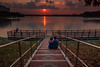 Viewing sunset with my love one! (Kenneth's Photography) Tags: dragondaggerphoto