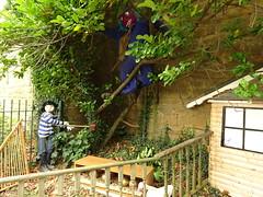 Jack And The Beanstalk Scarecrow (Munki Munki) Tags: fairytale giant jack goose beanstalk goldeneggs portmulgrave nyorks hinderwell scarecrowfestival2015