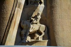 La Sagrada Família, Gaudí, Barcelona. (Angela Llop) Tags: catalonia spain barcelona sagradafamília gaudí