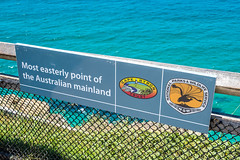 Most Easterly Point (Serendigity) Tags: australia coastal newsouthwales sign byronbay capebyron nsw