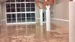 Lake Almanor Warehouse Water Damage