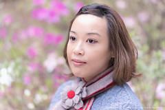 Yuen Long Park, HK (mikemikecat) Tags: yuen long park 元朗公園 hongkong mikemikecat sonya7r bokeh handheld hong kong sony a7r portrait smile 人 85mm f18 people woman carlzeiss batis