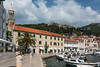 Along the waterfront, at Hvar
