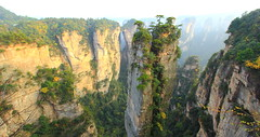 Fistful of Pillars - vol.1 (Eye of Brice Retailleau) Tags: outdoor panorama nature landscape mountains china zhangjiajie green sunny sky trees forest avatar scenic extérieur paysage colline arbre plante cliff pillar