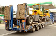 Scania R580 Stgo Cat 2 MAR-TRAIN Ireland T55MHH Frank Hilton  6x4  IMG_5082 (Frank Hilton.) Tags: classic truck lorry eight wheel maudsley aec atkinson albion leyalnd bristol austin outside heavy haulage crane 8 axle