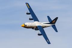 Fat Albert (Trent Bell) Tags: lancaster foxairfield airport losangelescounty airshow 2016 california aircraft fatalbert blueangels c130t hercules military