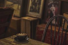 RETRO ☕️ (S♡C) Tags: cafe cafeonceuponatime retro antique vingate coffee cappuccino furniture