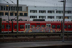 _DSC7720 (Under Color) Tags: hannover graffiti train steel db strain sbahn hauptbahnhof hbf mainstation streetart art subwayart kunst vandals