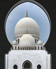 Sheikh Zayed Grand Mosque (d.calabrese71) Tags: abudhabi mosquée monument musulment culte religion blanc architecture sheikh zayed grand mosque