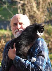 Koty Felix & Kocio (arjuna_zbycho) Tags: felix blackcat tuxedo tuxedocat kater hauskatze cat animal cute animals pets gato kitten feline kitty kittens pet tier haustier katzen gattini gatto chat cats kocio zbycho