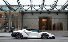 Centenario. (Alex Penfold) Tags: lamborghini centenario matte white supercars supercar super car cars autos alex penfold 2017 london