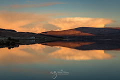 Amazing sunrise at Lough Nacung (Pastel Frames Photography) Tags: sunrise lough nacung codonegal ireland clouds lake reflections nature morning canon5dmark3 canon2470mm travel sightseeing